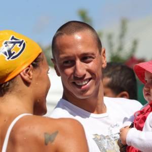 La nageuse a déjà une petite fille avec son compagnon : Manon, 2 ans.