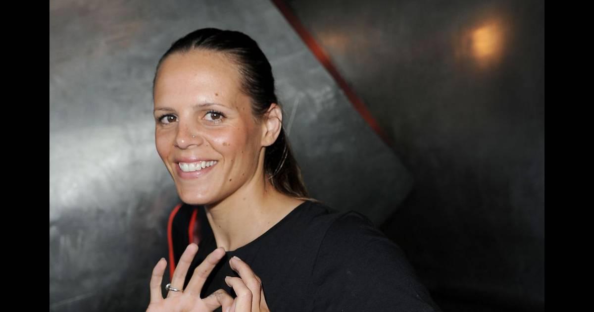 Laure manaudou a confirm qu 39 elle attendait son deuxi me enfant avec son compagnon fr d rick - Compagnon de laure manaudou ...