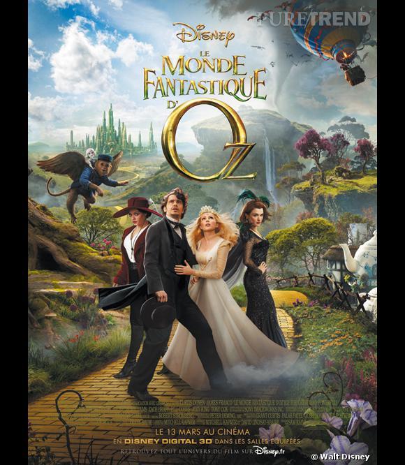 """""""Le monde fantastique d'Oz"""" : l'affiche officielle."""