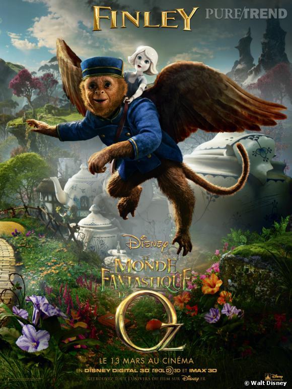 """""""Le monde fantastique d'Oz"""" : Finley, la voix de Zach Braff !"""
