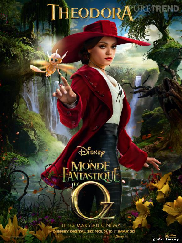 """Le monde fantastique d'Oz"" : Mila Kunis aka Theodora."