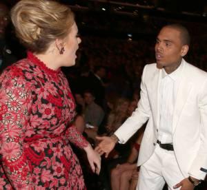 Chris Brown aux Grammy Awards 2013 : Adele se fache contre le mauvais perdant