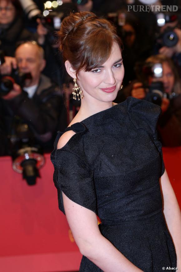 Louise Bourgoin, lors de la cérémonie d'ouverture de la Berlinale 2013, jeudi soir.