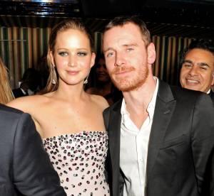 BAFTA 2013 : Jennifer Lawrence et Michael Fassbender, flirt a l'anglaise lors de la soiree ?