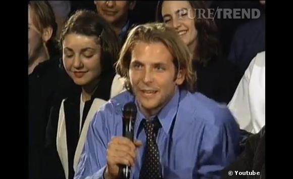 Bradley Cooper à 24 ans dans l'émission Inside The Actor Studio en 1999.