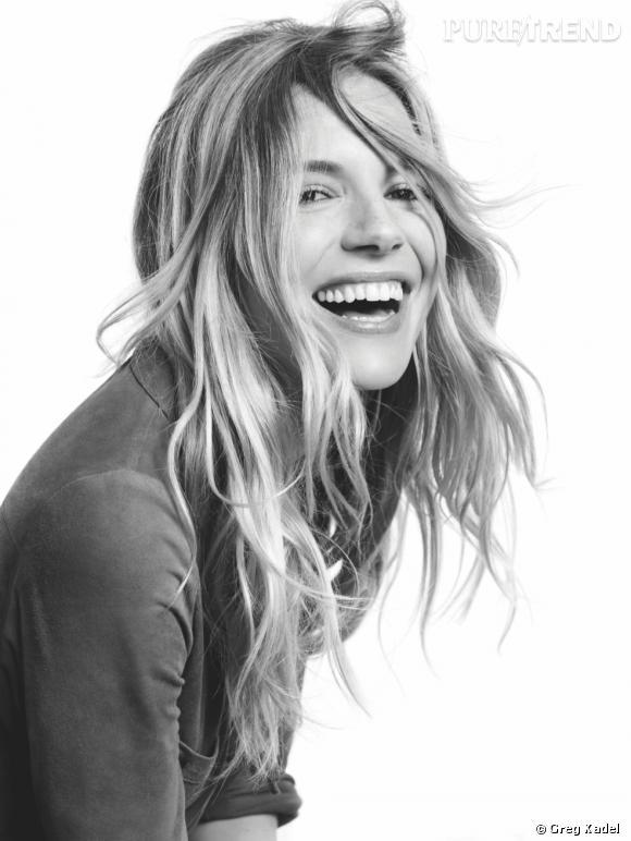 Sienna Miller  est l'égérie du Printemps-Eté 2013 de  Caroll .