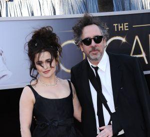 Helena Bonham-Carter en Vivienne Westwood et Tim Burton aux Oscars 2013.