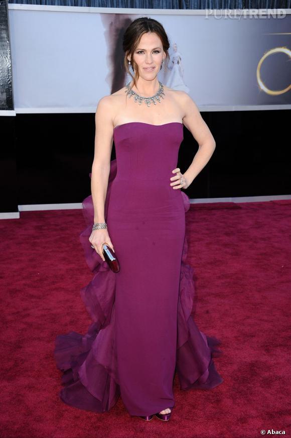 Jennifer Garner aux Oscars 2013 en Gucci.