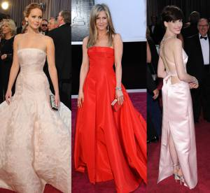 Oscars 2013 : Jennifer Lawrence, Jennifer Aniston, Anne Hathaway... Les robes de la soiree