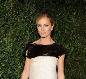 Laura Bailey au dîner Chanel pré-Oscars 2013 à Los Angeles le 23 février. Elle porte une robe Prêt-A-Porter Printemps-Eté 2012.