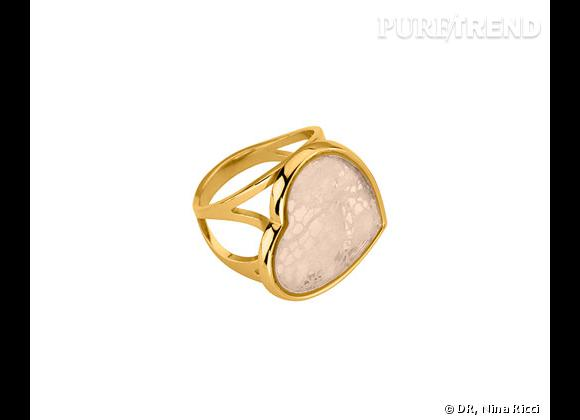 "Nina Ricci Printemps-Été 2013.            Bague collection ""Exquise"", 99€."