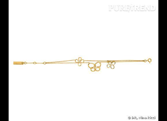 "Nina Ricci Printemps-Été 2013.     Bracelet collection ""Jardin d'été"", 119€."