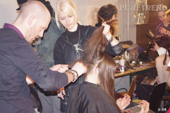 Le secret d'une coiffure décoiffée ? Le crêpage.