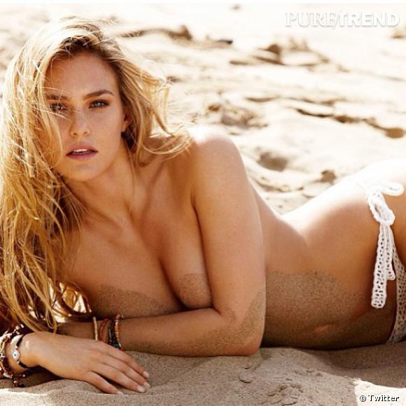 Bar Refaeli ressort une ancienne photo d'elle topless pour souhaiter la bienvenue sur Instagram au photographe Matt Jones.