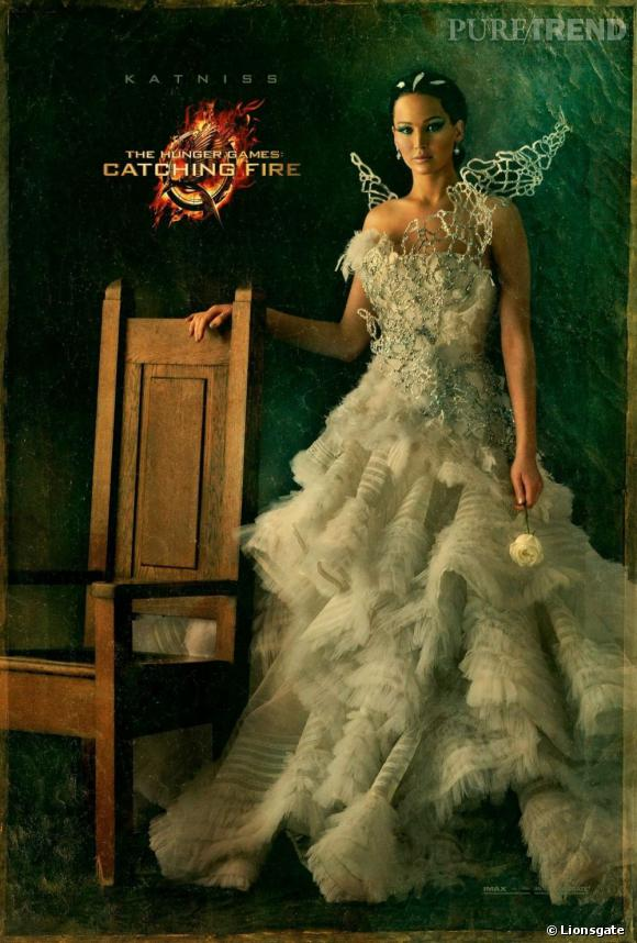 Jennifer Lawrence est Katniss Everdeen.
