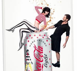 Marc Jacobs, tres joueur sur les nouvelles affiches de Coca-Cola Light
