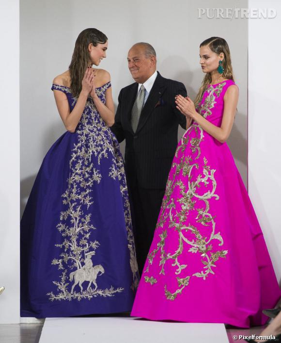 Oscar de la Renta recevra The Founders Award qui récompense son influence dans le monde de la mode.