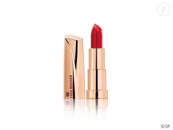 Une bouche glamour avec grand rouge d 39 yves rocher for Miroir yves rocher