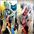 Miley Cyrus et son pyjama licorne.