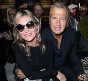 Mario Testino et Kate Moss, sa grande amie.