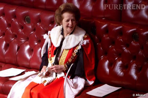 Margaret Thatcher est décédée : son fashion show en images.