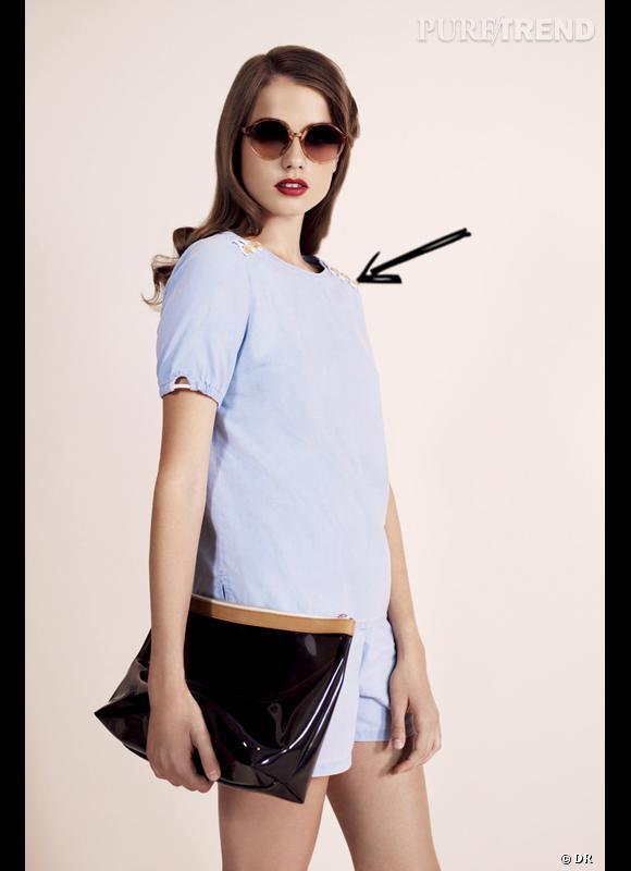 Comment porter la combi ce Printemps-Eté 2013 ?  Comme chez APC le combi-short est un must have de la saison estivale, à adopter style matelot chic et avec des lunettes de soleil glamour. Lookbook Printemps-Eté 2013