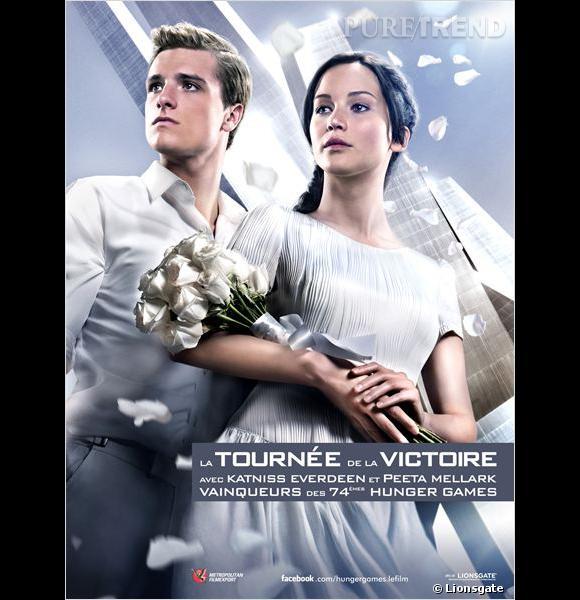 Jennifer Lawrence et Josh Hutcherson sont de retour dans Hunger Games : L'Embrasement.