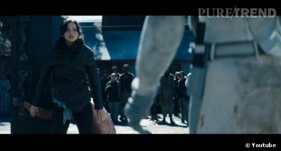 Katniss (Jennifer Lawrence) est devenue un véritable symbole d'espoir pour les habitants de Panem.