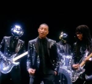 Teaser de Get Lucky avec Pharrell Williams dévoilé pendant Coachella.