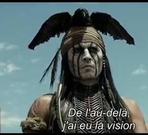"""""""Lone Ranger"""" avec Johnny Depp, le trailer."""