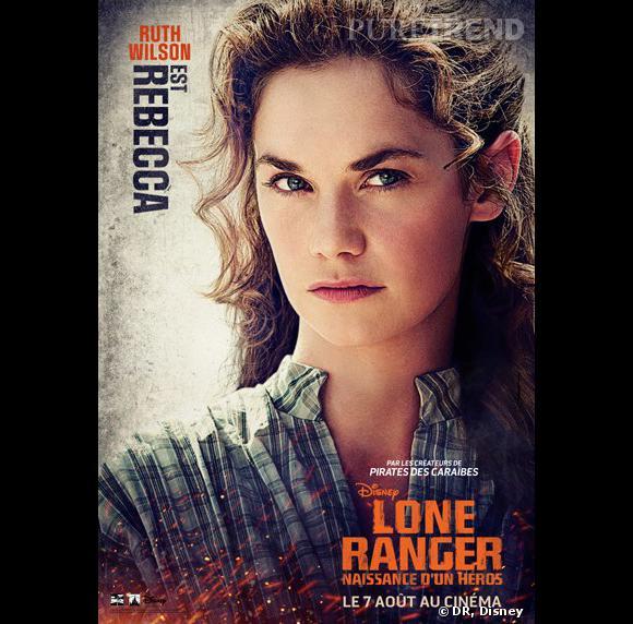 """""""Lone Ranger"""", le poster avec Ruth Wilson."""