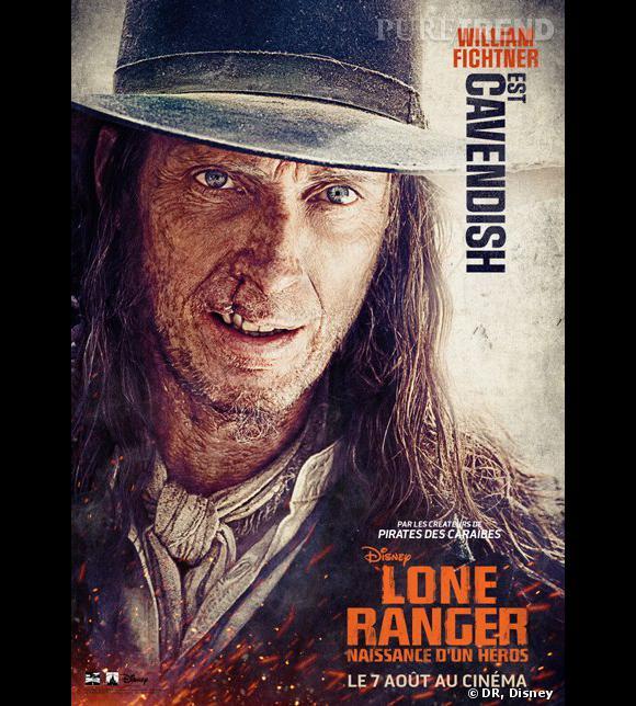 """""""Lone Ranger"""", le poster avec William Fichtner."""