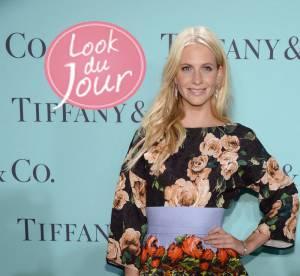 Poppy Delevingne : audacieux imprimes pour la soiree Tiffany and Co
