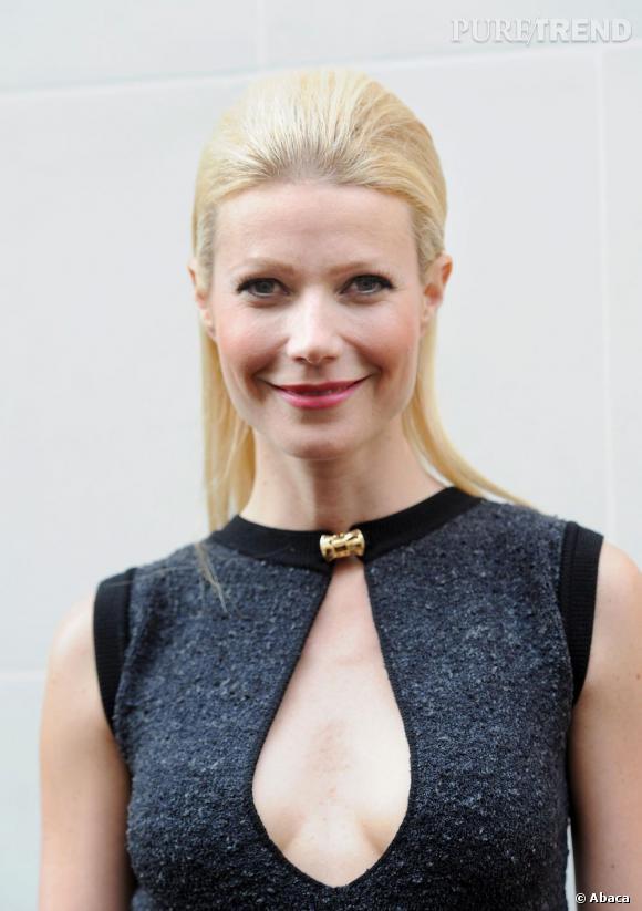Le flop coiffure  : la coque rigide de Gwyneth Paltrow. Un peu alien.