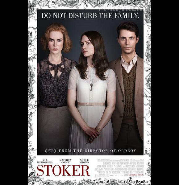 """""""Stoker"""" au cinéma le 1er mai."""