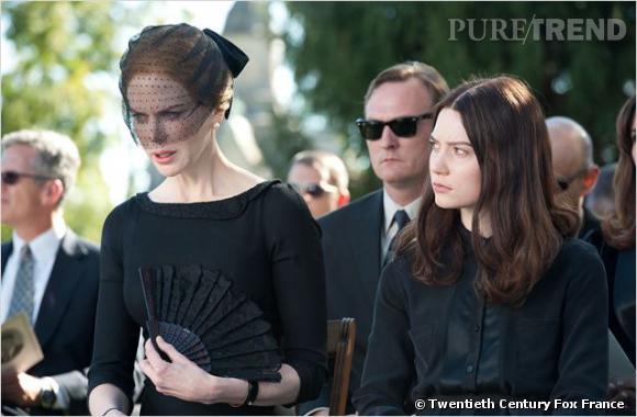 """""""Stoker"""" au cinéma le 1er mai : Nicole Kidman dans le rôle d'une veuve éplorée."""