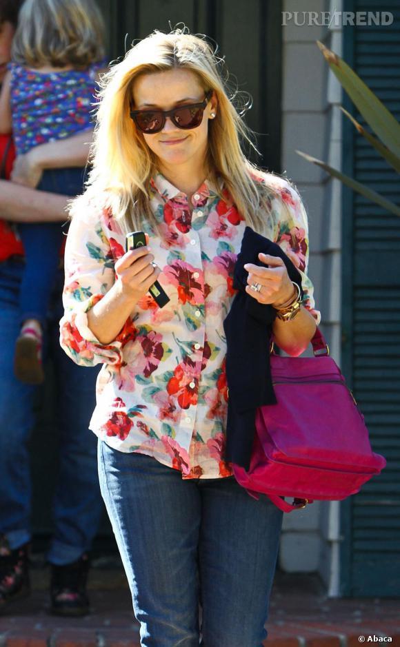 Il faut dire qu'entre ses enfants et sa carrière, Reese Witherspoon est très occupée !