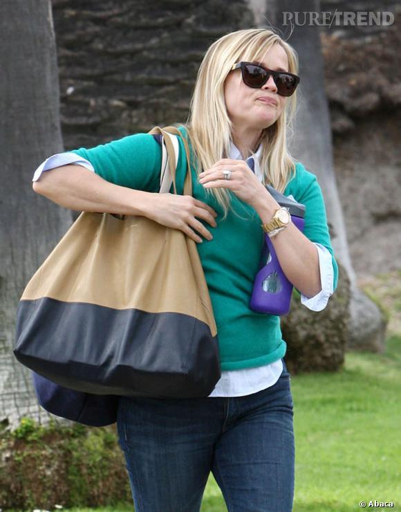 Reese Witherspoon, maman débordée ? La star avoue qu'elle n'arrête pas de perdre la mémoire et plaisante même sur le fait que son bébé lui ait volé son cerveau !