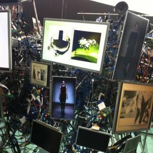"""Le """"Cerveau"""", une  installation en  collaboration avec Alexandre de Betak."""