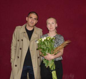 Felipe Oliveira Baptista et Satu Maaranen, la gagnante du Grand Prix du jury mode