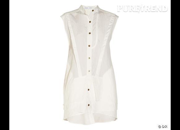 Collection Proenza Schouler en exclu sur Net-a-porter.com    Robe-chemise, 1014 €