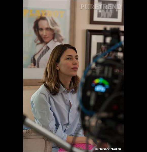 "Sofia Coppola en interview pour ""The Bling Ring"" à Cannes."