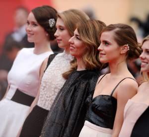 Cannes 2013 : Emma Watson, Ludivine Sagnier... La montee des marches, jour 2