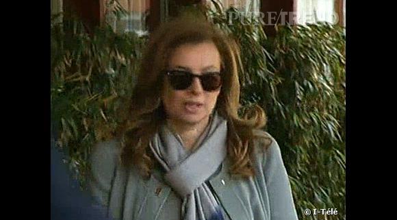 """Valérie Trierweiler est arrivée dimanche après-midi à Cannes, pour assister à la projection du film """"Le Dernier des Injustes""""."""