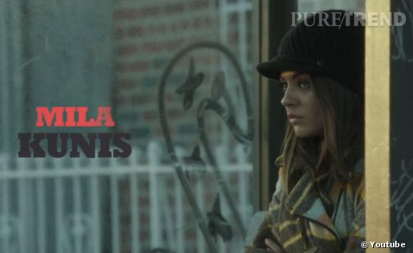 """Mila Kunis dans """"Blood Ties""""."""