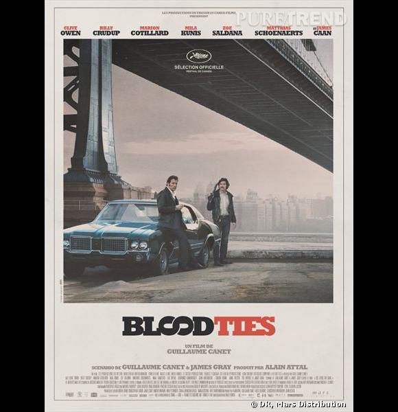 """""""Blood Ties"""", le nouveau film de Guillaume Canet avec Clive Owen, Marion Cotillard, Zoe Saldana, Mila Kunis..."""