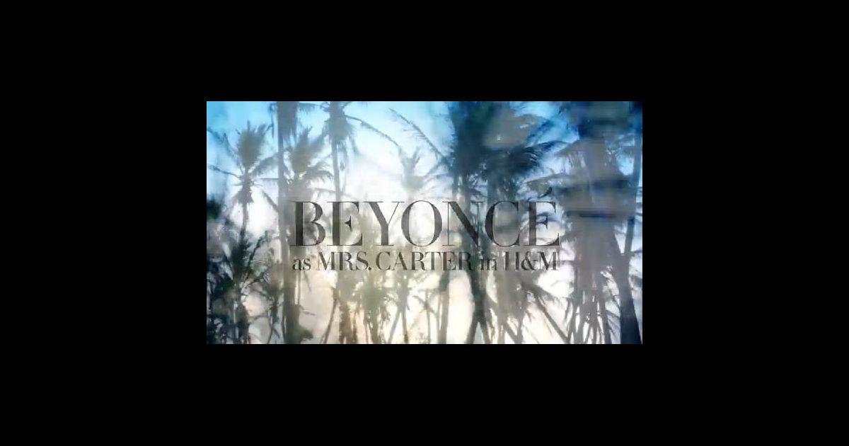 beyonc chante son titre standing in the sun dans la publicit pour h m puretrend. Black Bedroom Furniture Sets. Home Design Ideas