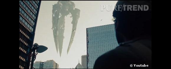 Les vaisseaux de Zod sont également impressionnants...