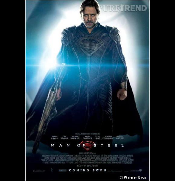 """Russell Crowe joue Jor-El dans """"Man of Steel""""."""