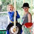 Gwen Stefani et son fils au nom délicieux de  Zuma Nesta Rock Rossdale est une de ces mamans stars.